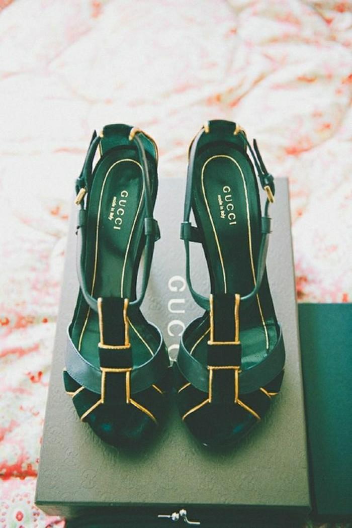 00-gucci-chaussures-à-talons-en-cuir-vert-sandales-femme-2016-mode