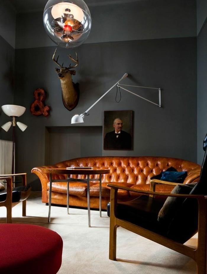 00-idée-peinture-salon-canape-cuir-salon-murs-gris-canape-en-cuir-marron-mur-gris