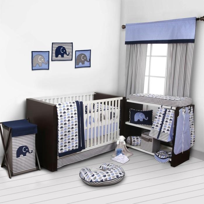 O trouver le meilleur tour de lit b b sur un bon prix for Chambre d enfant bleu