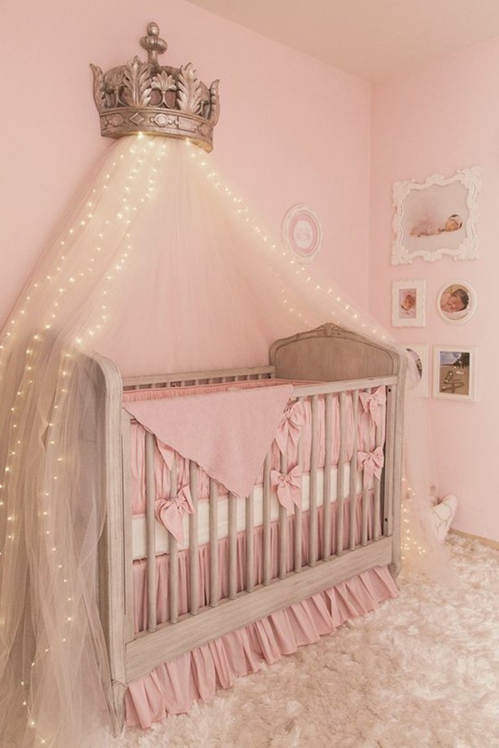 Stunning belle chambre bebe fille contemporary matkin for Chambre complete enfant fille