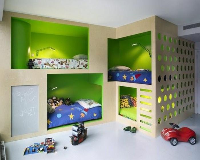 80 astuces pour bien marier les couleurs dans une chambre for Chambre d enfant garcon