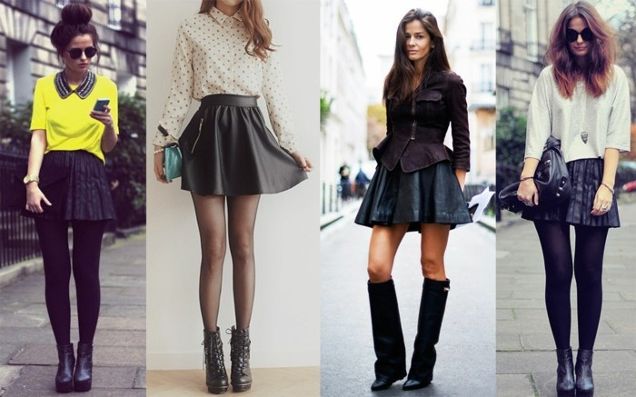 la jupe patineuse - 80 idées comment la porter - archzine.fr