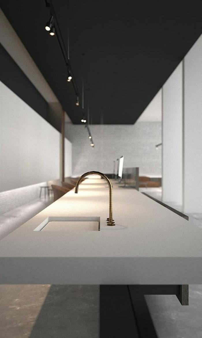 1-originale-idee-pour-eclairer-la-cuisine-lampadaire-castorama-bar-de-cuisine-blanc