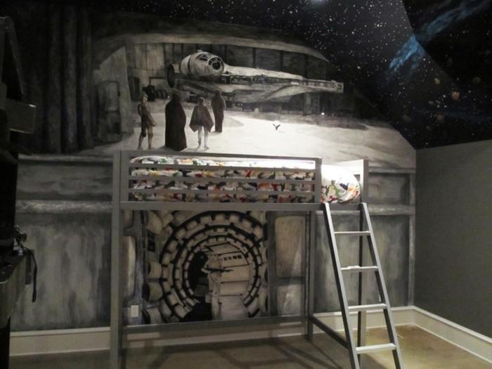La chambre Star Wars - faire une décoration à l\'aide de votre ...