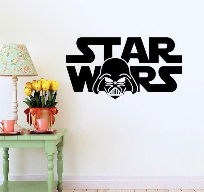 Peinture Chambre Star Wars : La chambre star wars faire une décoration à l aide de