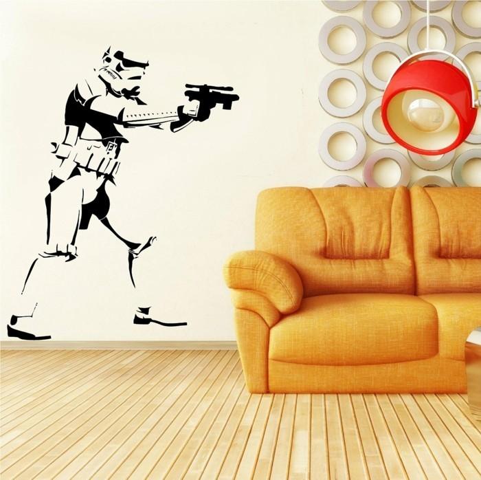 La chambre star wars faire une d coration l 39 aide de votre imagination - Chambre bien decoree ...