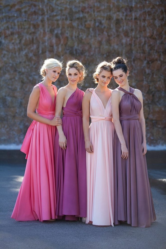 Cool-idée-robe-témoin-marriage-robe-de-témoin-de-mariage-roseßnuances