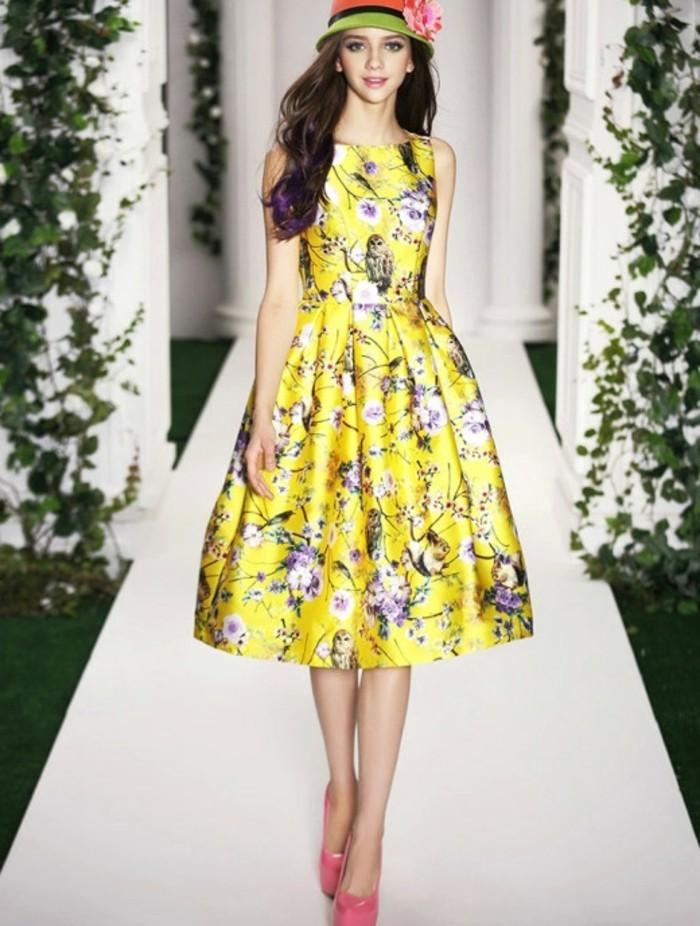 Design-robe-témoin-mariage-pas-cher-tati-mariage-pas-chere-fleurie