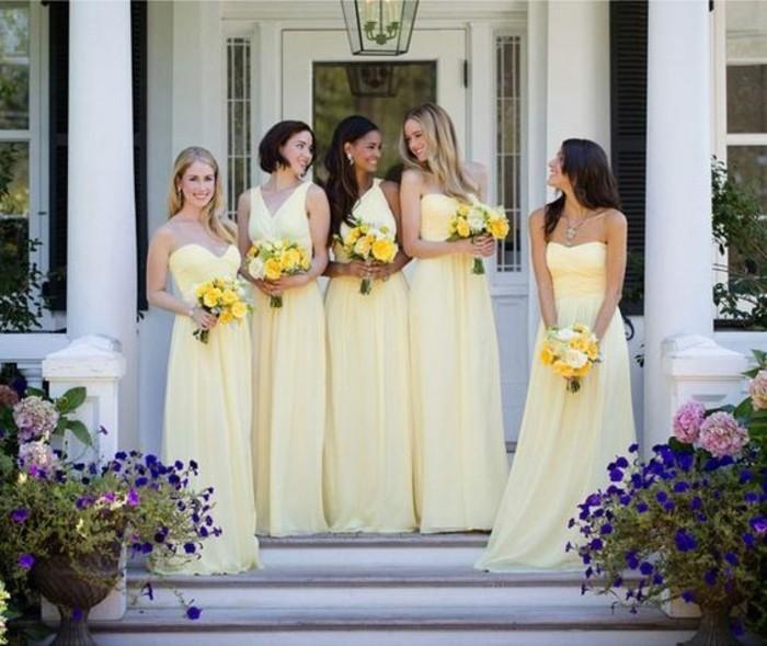 Design-robe-témoin-mariage-pas-cher-tati-mariage-pas-chere-jaune