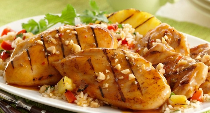 Grilled Hawaiian Pineapple Chicken_Recipe