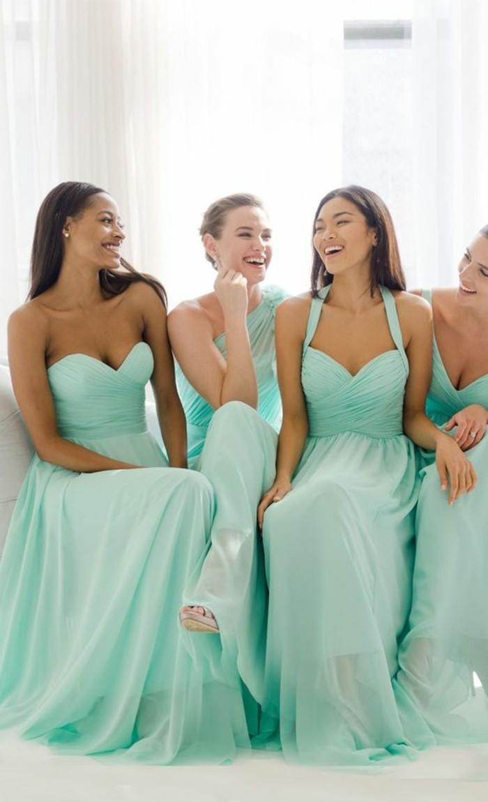 La robe de t moin de mariage les meilleurs id es et les for Robes de demoiselle d honneur aqua pour mariage sur la plage
