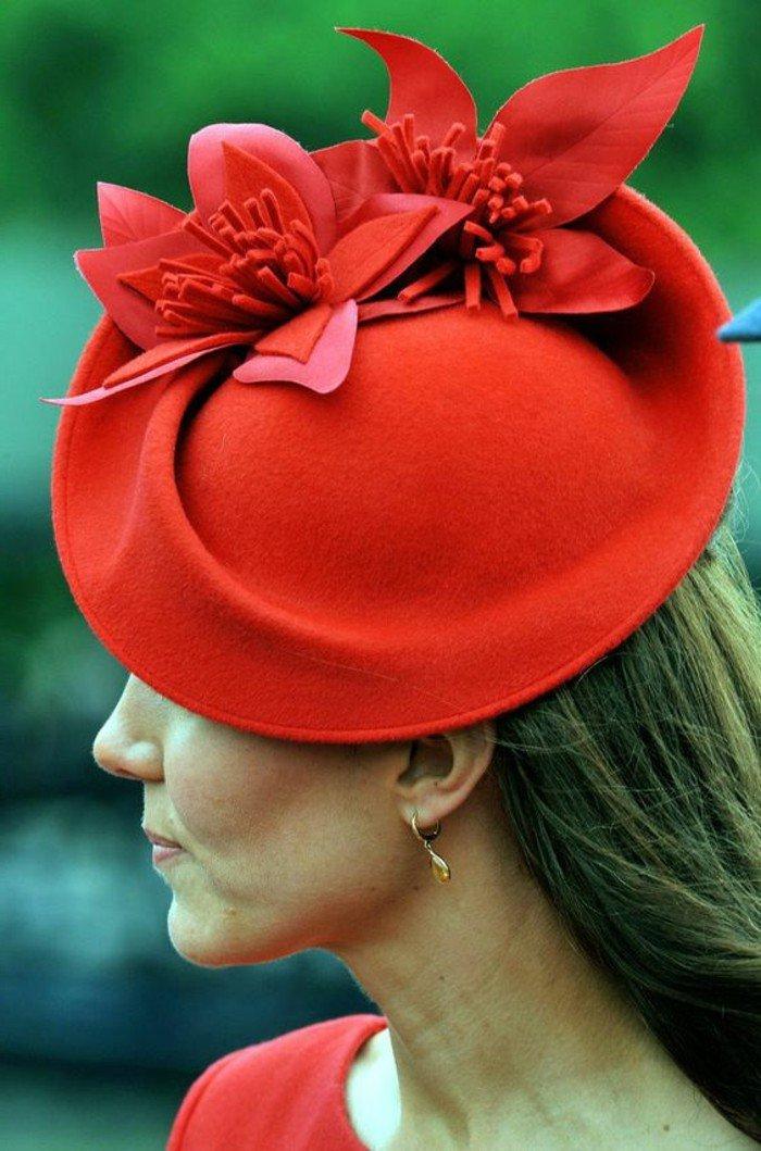 Kate-Middleton-grand-chapeau-femme-les-accessoires-à-porter-cool-idée