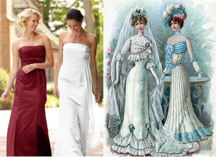 Magnifique-robe-mariée-robe-soirée-robes-pour-mariage-originale-rouge