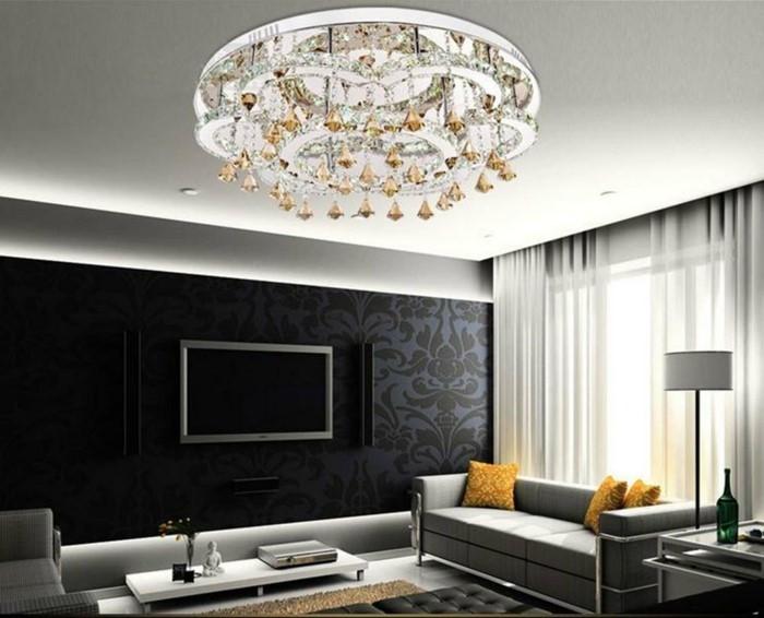 Moderne-LED-lustre-cristal-lustre-abat-jour-pendentif-plafond-décoration-lampe-télécommande-lustres-de-teto-D65cm-resized