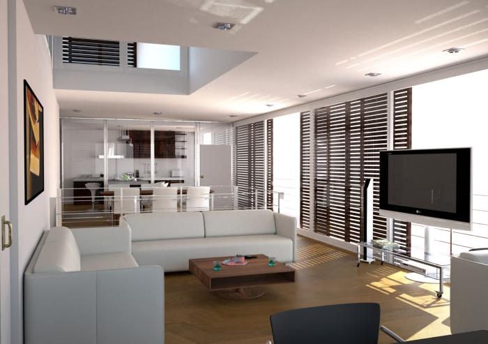Aménager un studio appartement élégant blanc