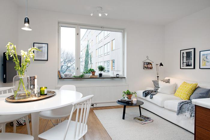 aménager-un-studio-petit-appartement-déco-blanche