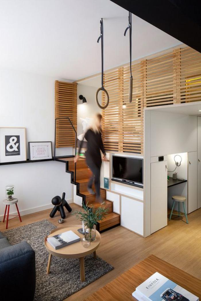 Fa ons d 39 am nager un studio beaucoup d 39 id es en photos - 1 4 scale furniture for interior design ...