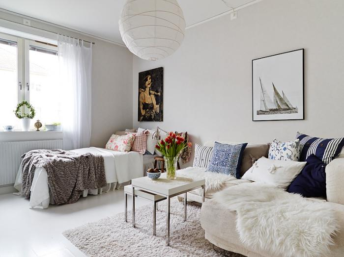 aménager-un-studio-petit-logement-scandinave