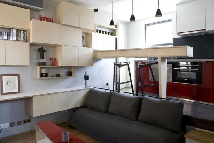aménager-un-studio-salon-et-cuisine-de-deux-niveaux