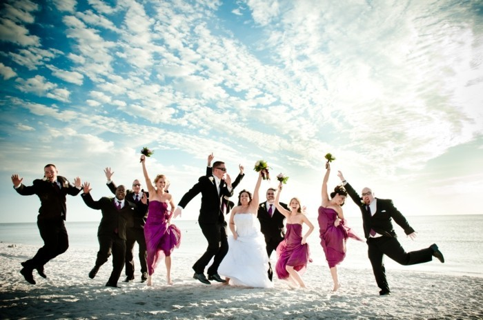 ambiance-plage-robe-temoin-de-mariage-robe-pour-un-mariage-heureuse
