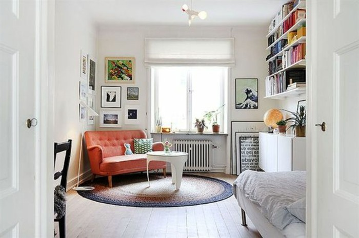 83 photos comment am nager un petit salon - Idee amenagement petit espace ...