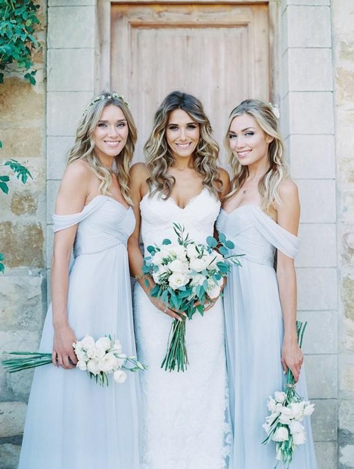 beauté-robe-temoin-de-mariage-robe-pour-un-mariage-belle-femme-mariée