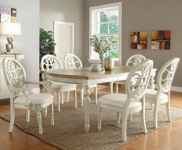 belle-table-ronde-extensible-superbe-idee-decoration-design-intérieur-classique-en-blanc