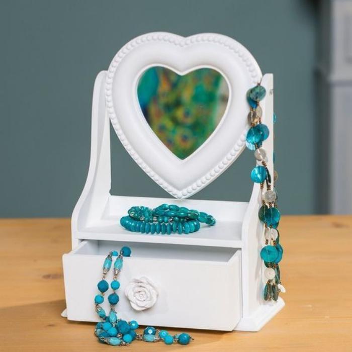 boite-à-bijoux-en-bois-avec-miroir-boite-peinte-blanche