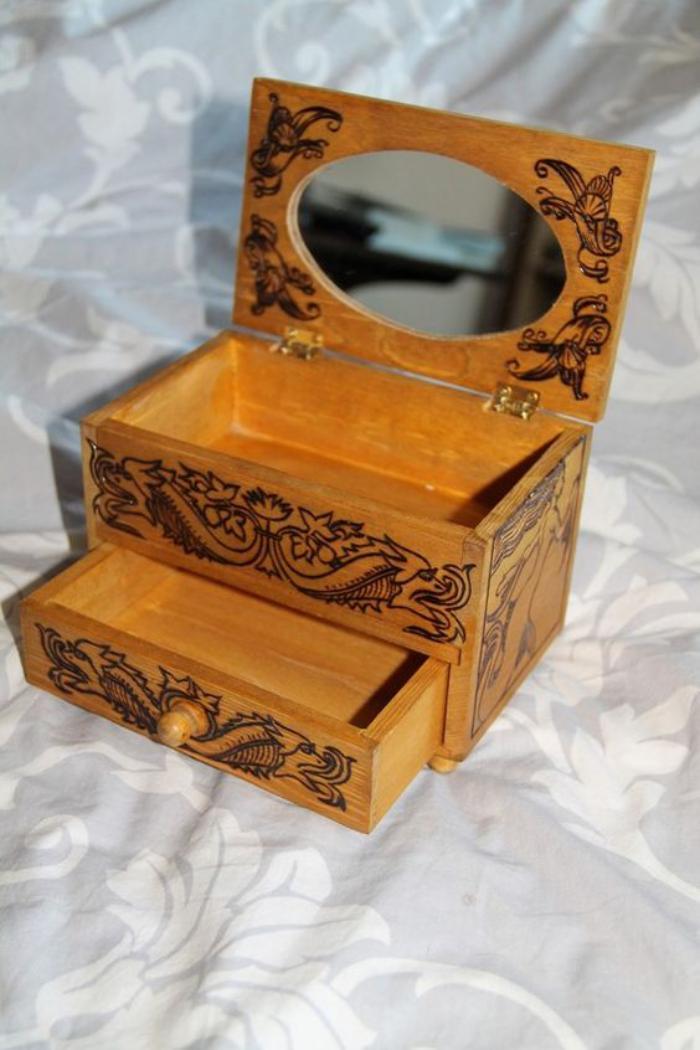 boite-à-bijoux-en-bois-petit-coffret-avec-miroir
