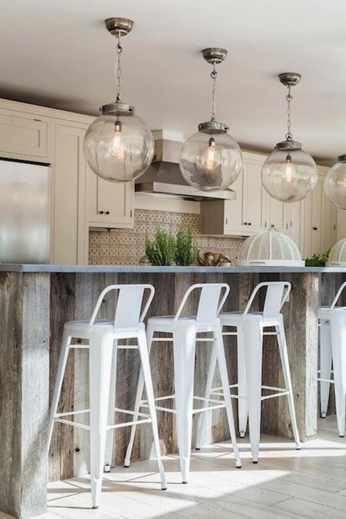 Milles conseils comment choisir un luminaire de cuisine for Eclairage suspendu cuisine