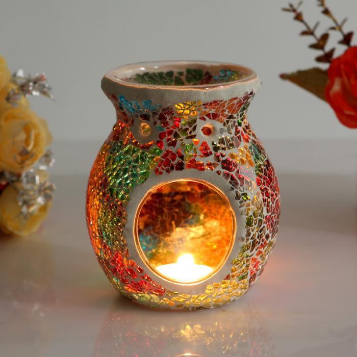 brûle-parfum-bougeoir-original-verre-mosaique