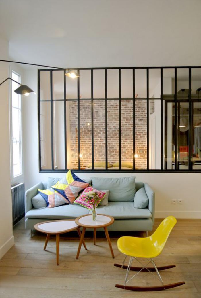 briques-de-parement-intérieur-style-atelier-fenêtre-atelier-et-mur-en-briques