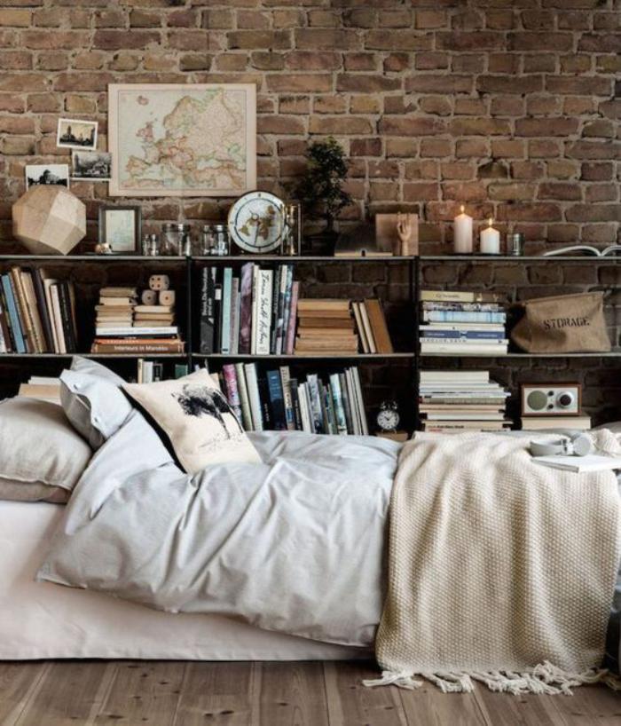 briques-de-parement-revetement-mural-original-chambre-à-coucher