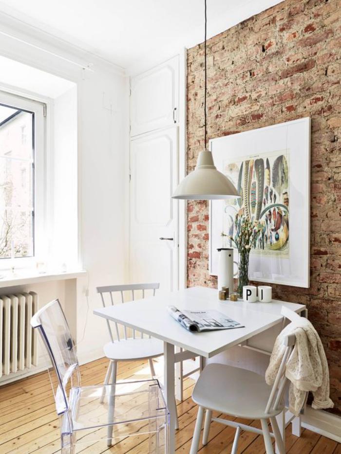 les briques de parement et les briques apparentes int rieurs esprit loft. Black Bedroom Furniture Sets. Home Design Ideas