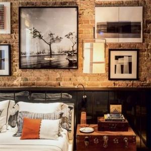 Les briques de parement et les briques apparentes – intérieurs à esprit loft