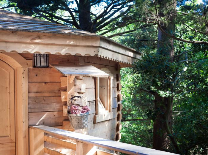 L 39 aventure de s journer dans une cabane dans les bois - Cabane en bois dans les arbres ...