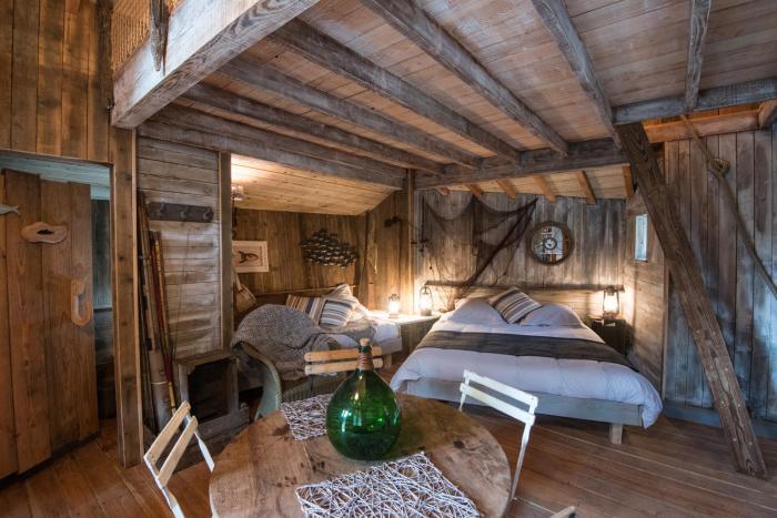 cabane-dans-les-bois-cabanes-en-bois-dans-les-forêts