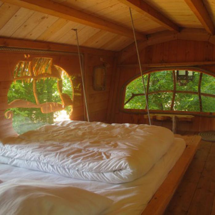 L 39 aventure de s journer dans une cabane dans les bois for Acheter cabane dans les arbres