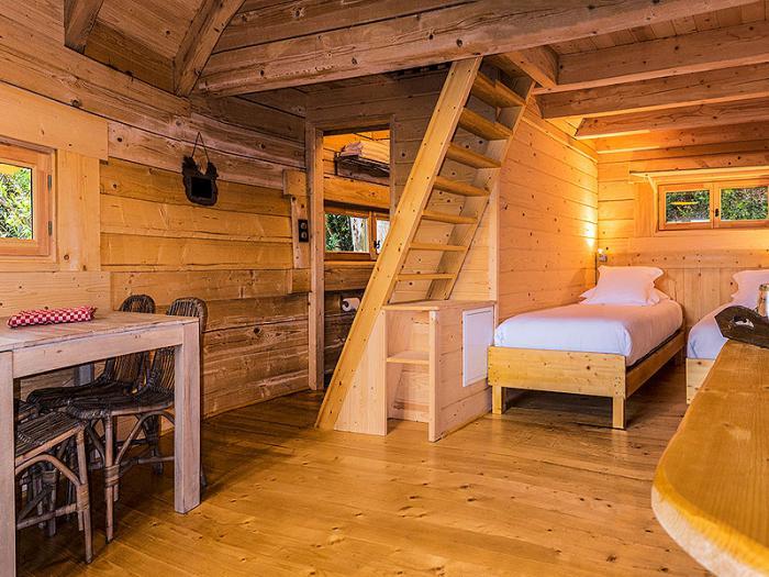 Laventure de séjourner dans une cabane dans les bois ~ Cabanes Dans Les Bois