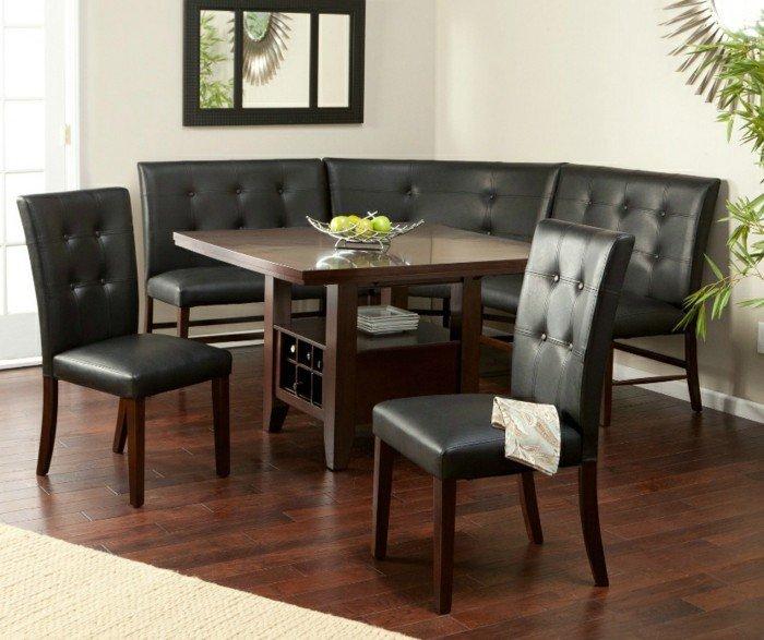 chaise-ikea-meuble-salle-à-manger-table-bois-massif-intérieur-noir-et-blanc-bois-sombre
