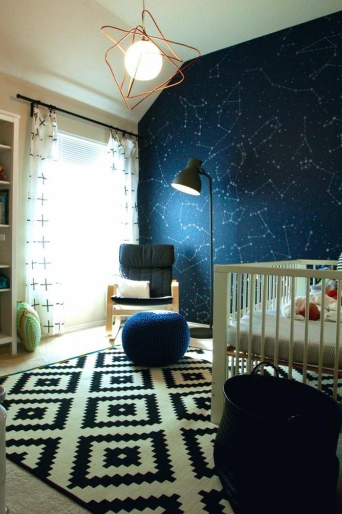 80 astuces pour bien marier les couleurs dans une chambre for Decoration murale pour chambre