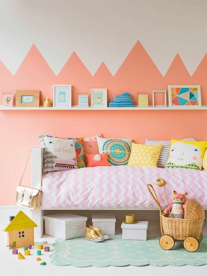 Nos astuces en photos pour peindre une pi ce en deux couleurs for Peindre une chambre en blanc