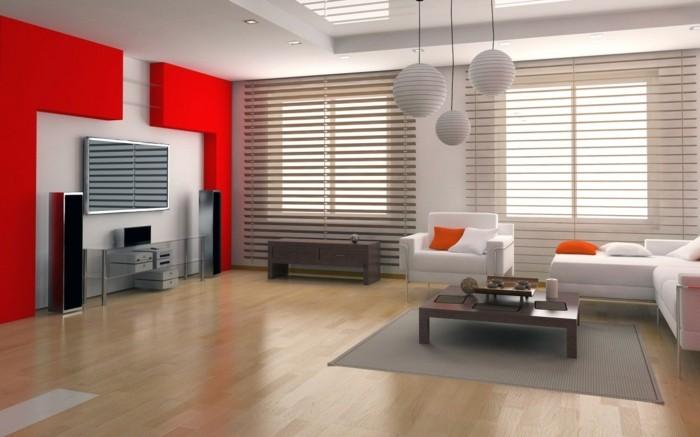 chambre-marron-chambre-rouge-et-blanc-deco-chambre-adulte