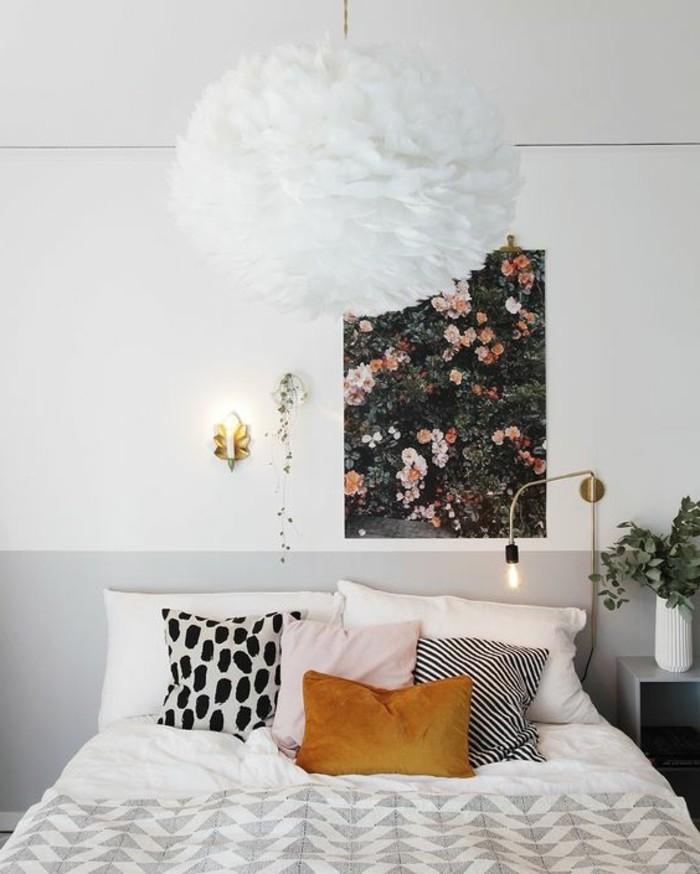 Couleur mur chambre parentale for Peindre une chambre adulte