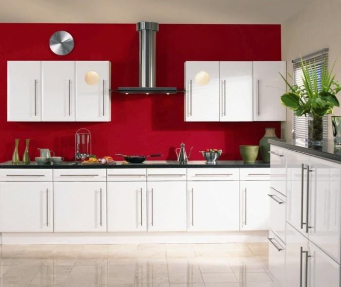 Chambre rouge et blanc id es int ressantes pour votre - Chambre en rouge et gris ...