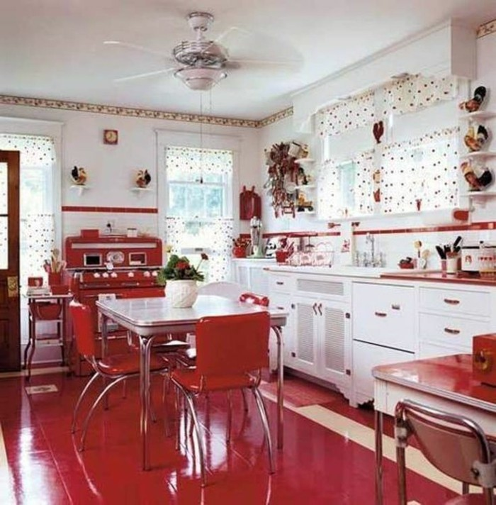 cuisine moderne rouge et blanc armoire chambre bebe la redoute
