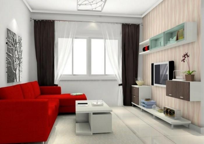 chambre-rouge-et-blanc-deco-chambre-adulte-décoration-chambre-adulte