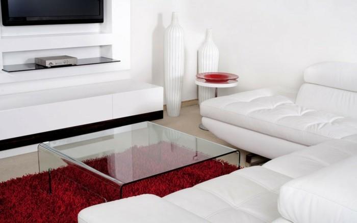 Deco Chambre Taupe Rouge : Chambre rouge et blanc idées intéressantes pour votre