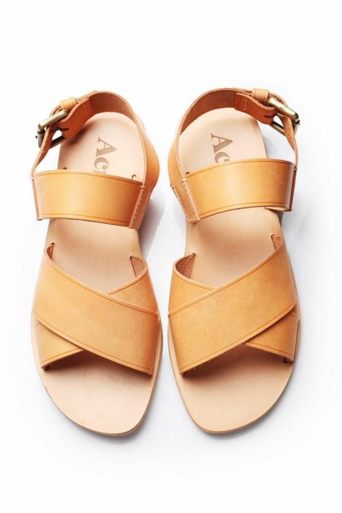 chaussures-d-ete-en-cuir-beige-design-2016-chaussures-modernes-ete