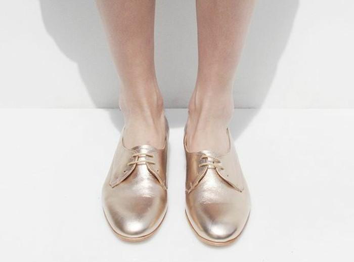 chaussures-femme-derbies-pas-cher-modèle-chic-chaussures-femme-modernes